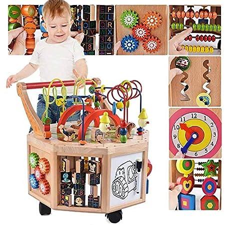 Amazon.com: Andador infantil, juguete multifunción para el ...
