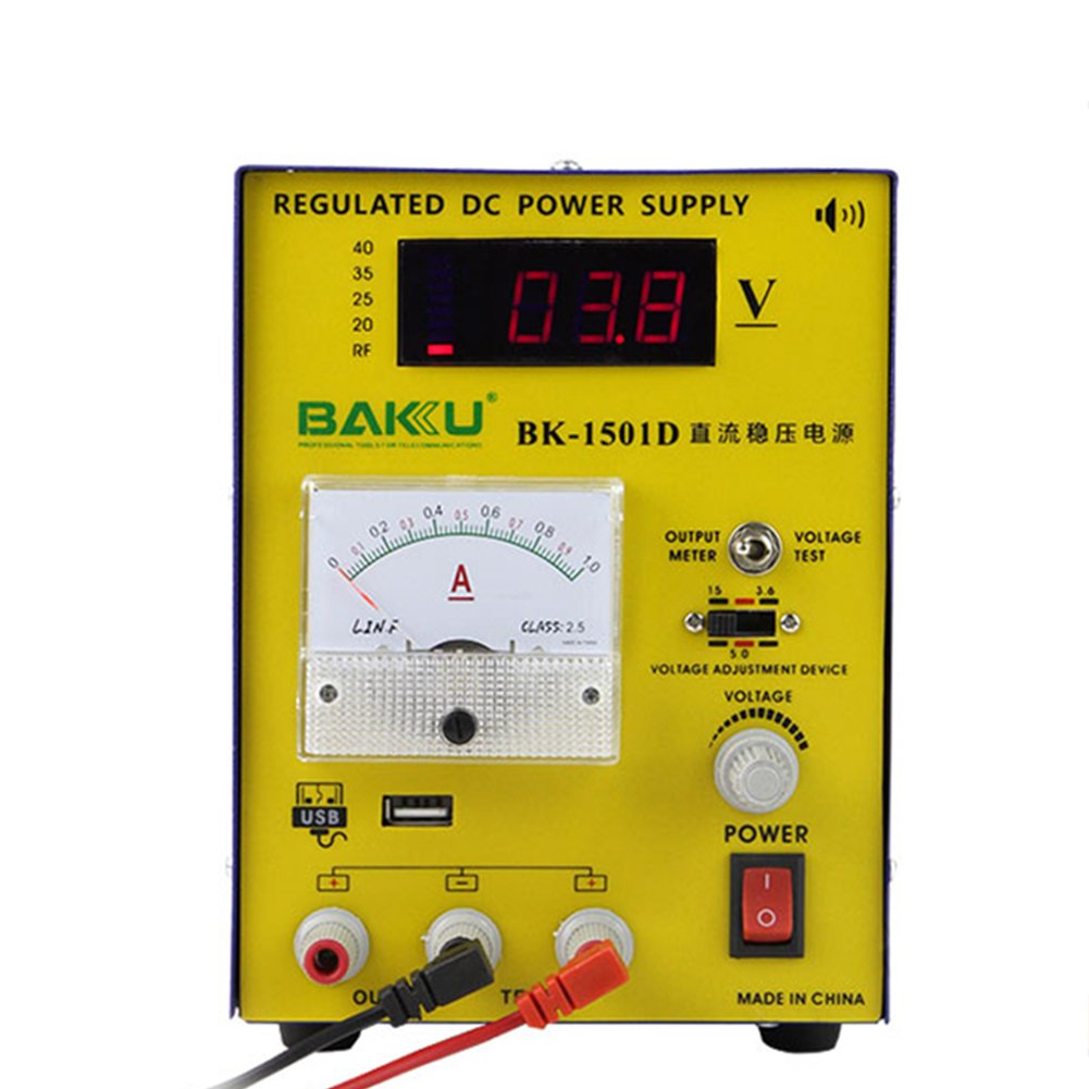 Computers Accessories Baku Bk 1501d Dc Power Supply Variable Regulated 15v 1a Adjustable Switching Digital With Alligator Leads Us