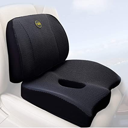 Brilliant Amazon Com Premium Comfort Seat Cushion Office Chair Car Ibusinesslaw Wood Chair Design Ideas Ibusinesslaworg