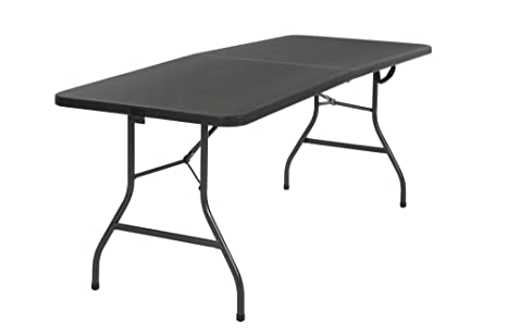 Delicieux Cosco Deluxe 6 Foot X 30 Inch Fold In Half Blow Molded Folding Table