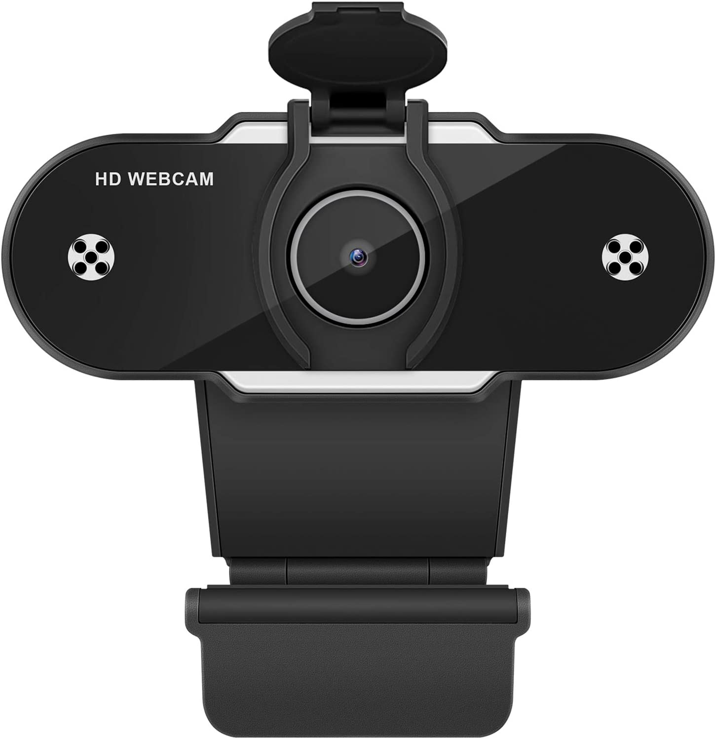 Whew HD 1080P Webcam with Microphone, USB Webcam with Auto Light Correction for Desktop/Laptop, Streaming Computer Web Camera for Video Conferencing, Teaching, Streaming, and Gaming