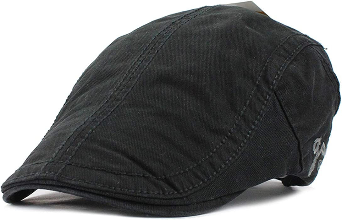 Cotton Gorras Planas Beret Vintage Boinas Flat Cap Men Women Casquette Sun Flat Cabbie Newsboy Hat