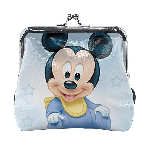 Xzcxyadd Monedero para mujer con diseño de Mickey Mouse, con ...