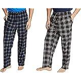 Nautica Soft Fleece Pajama Pants Set for Men - 2 Pack