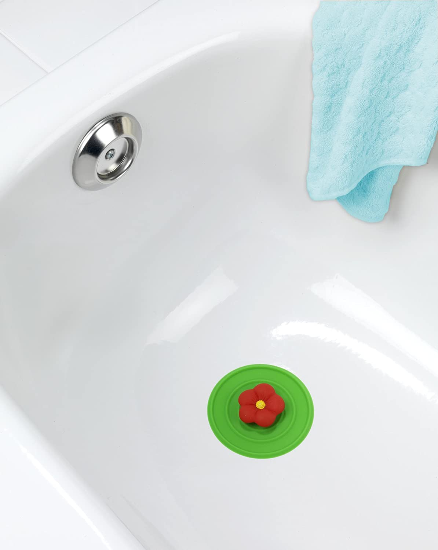 colore verde Tappo a forma di fiore in silicone Wenko 53010100/