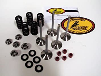 450X 2010-2011 Kibblewhite Stainless Steel Intake and Exhaust Valves with Seals Yamaha YFZ 450 2004-2009 450R 2009-2016