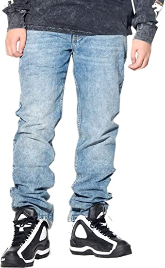 (リー) Lee ジーンズ メンズ 大きいサイズ デニムパンツ ストレッチ ストレートフィット ジップフライ USAモデル 春 夏 秋 冬 b系 ストリートファッション アメカジ [並行輸入品]