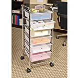 Seville Classics Large 6-Drawer Storage Bin