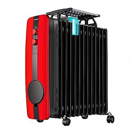 Hogar radiador de Aceite 2.2KW 13 Fin - Calentador eléctrico portátil - 3 configuraciones de