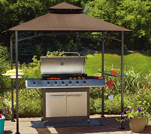 Cheap Sunjoy Replacement Canopy Set for Grill Shelter