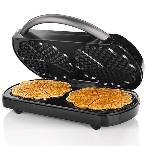 Silvercrest Doppia Della Piastra Per Waffle 1200 W Per 2 Cialde In