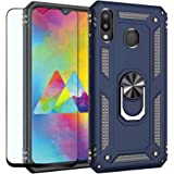 Strug for Samsung Galaxy M20 Case,Heavy Duty Shockproof Protection Built-in 360 Rotatable Ring Magnetic Car Mount Case…