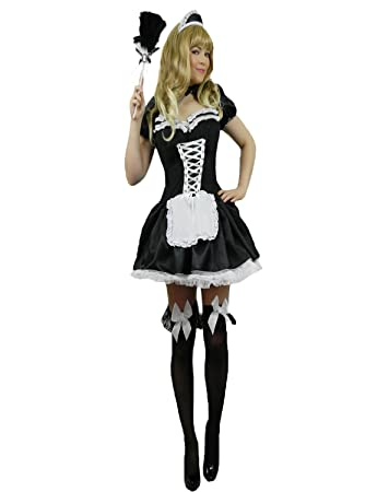 Yummy Bee French Maid Adult Plus Size 8 26 Deluxe Costume Fancy