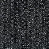 "Speaker Grill Cloth Fabric Black Yard 36"" Wide"