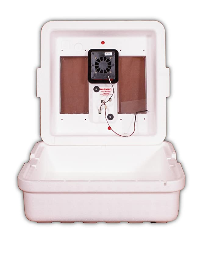 Little Giant Egg Incubator 9300 with Circulated Air Fan - Built In Household Ventilation Fans - Amazon.com
