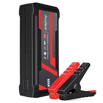 Audew Arrancador de Emergencia Portatil para Coche de Emergencia con Alta Capacidad 16800mAh 800A: Amazon.es: Coche y moto