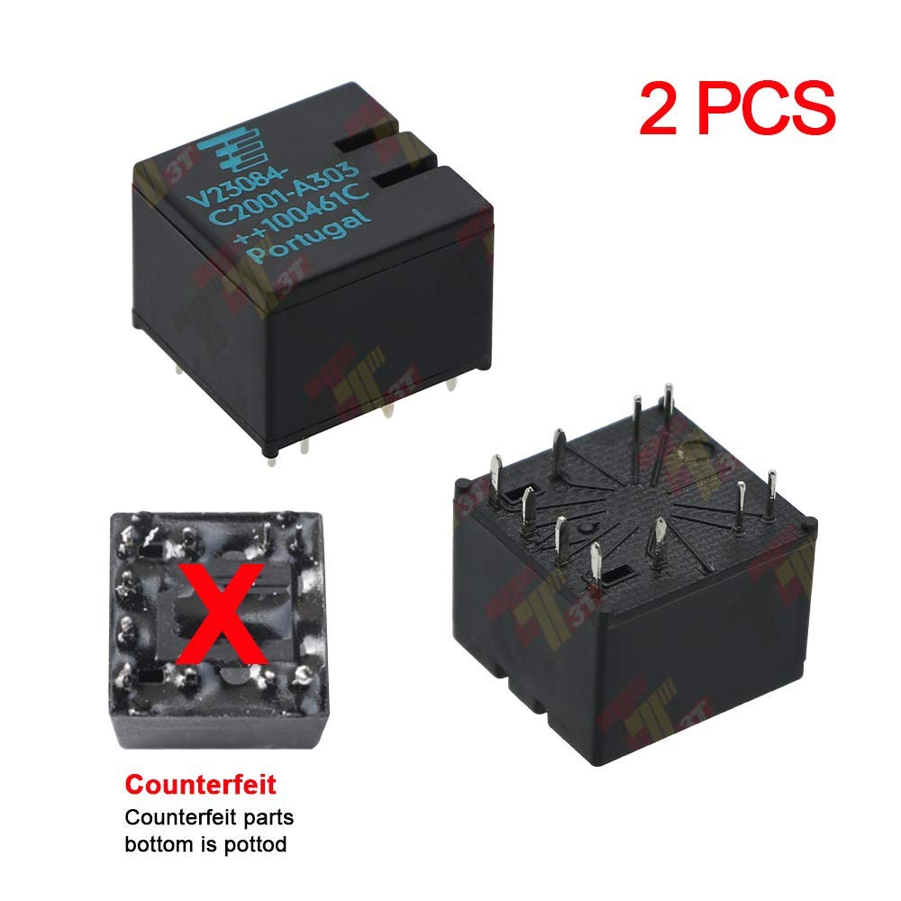 4 Pack V23084-C2001-A303 Automotive Relay For BMW E46 3 5 7 Series GM5 Module Door Locks