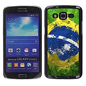 Dragon Case - FOR Samsung Galaxy Grand 2 - Smile because it happened - Caja protectora de pl??stico duro de la cubierta Dise?¡Ào Slim Fit