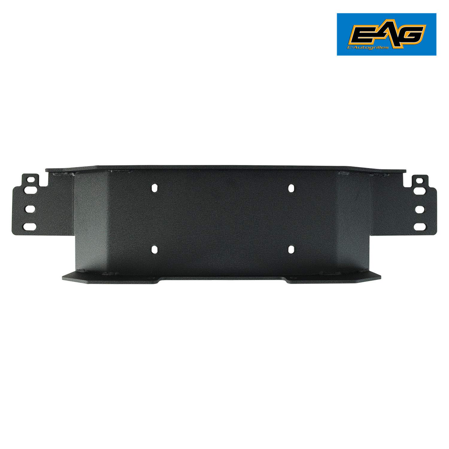EAG Raised Winch Mounting Plate Fit for 1987-2006 Jeep Wrangler TJ//YJ OE Factory Bumper