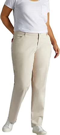 Lee Women's Plus-Size Relaxed-Fit All Day Pant