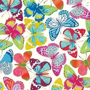 Caspari Inc. - Papel de regalo, diseño de mariposas