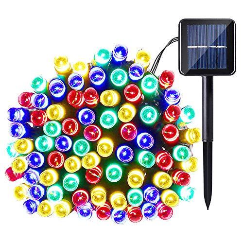 100 Light Solar Led String Lights - 9