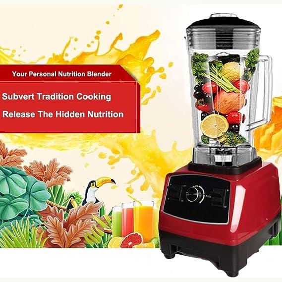 2200W Profesional Blender Resistente Licuadora Profesional Robot de Cocina Cocina Exprimidor Lama Exprimidor de la máquina, Exprimidores eléctricos: Amazon.es