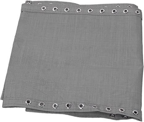 Breathable Tessforest Fabric Replacement Cloth Laces for Sling Chairs Gray