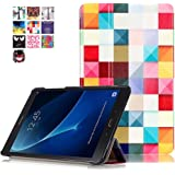 Samsung Galaxy Tab A 10.1 Leather Case,Samsung 10.1 inch Tablet Case-Slim Fit Smart Cover Case Style Folding Leather Case for Samsung Galaxy Tab A 10.1