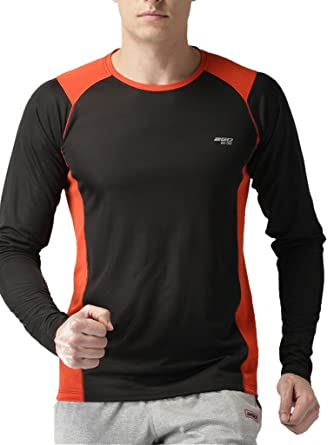 cef42923c7cf 2Go Men s Polyester Long Sleeve Top (El-Gs7Ts011Bold Blacks ). Roll over  image to zoom in