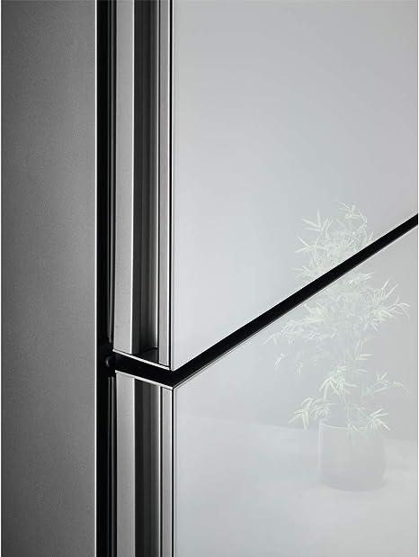 AEG RCB736E4ML Frigorífico Combi con puerta de cristal, Libre Instalación, 2.01 m, NoFrost, Tecnología Twintech, MultiFlow, Display LED, Cajón ExtraChill, Luces LED, Blanco, Clase A++: Amazon.es: Grandes electrodomésticos