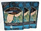 Multi Pack Offer 3 X Macadamia Oil Extract Deep Moisturising Foot Pack Socks Treatment Deep Moisturising