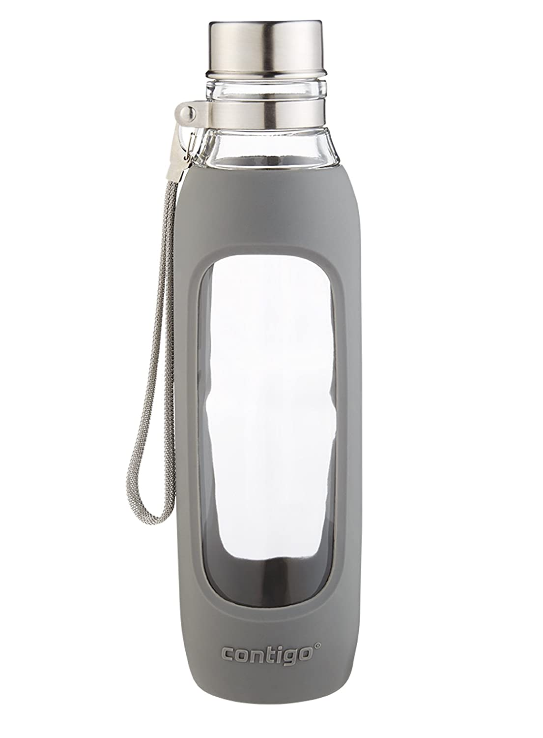 Radiant Orchid Contigo Purity Glass Water Bottle 20oz