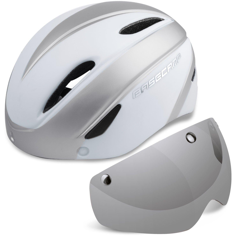 Casco Bicicleta con LED, Kinglead Protección de Seguridad Ajustable Casco de Bicicleta Ligera para Montar en Bicicleta Casco de Bicicleta BMX Scooter Skate ...