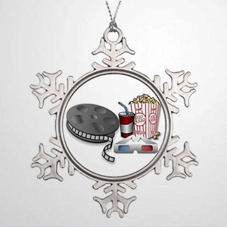 BYRON HOYLE Ideas for Decorating Christmas Trees 3D Cinema Film Strip Home Decorations Christmas Snowflake Ornaments Xmas Decor Wedding Ornament Holiday Present
