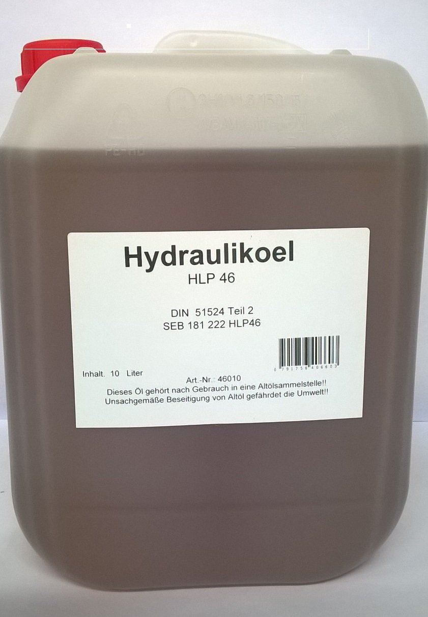 Hydraulic Oil Hlp 46 Jerry Can 10 Litre Capacity Alle Produkte
