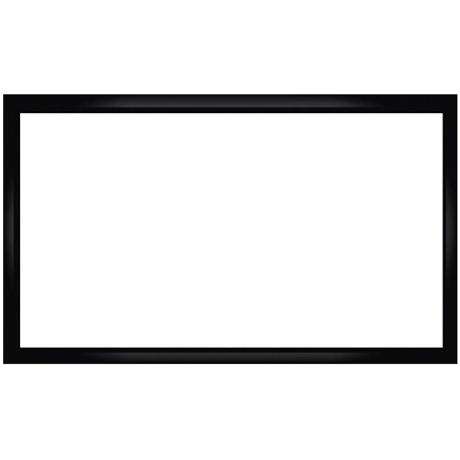 Antra 16:9 Fixed Projector Projection Screen (6-PC Frame) PVC material 3D HD Compatible for Home Theatre Office Presentation (16:9 92'', Matt White)