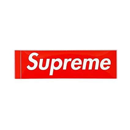 Supreme Supreme Sticker Red