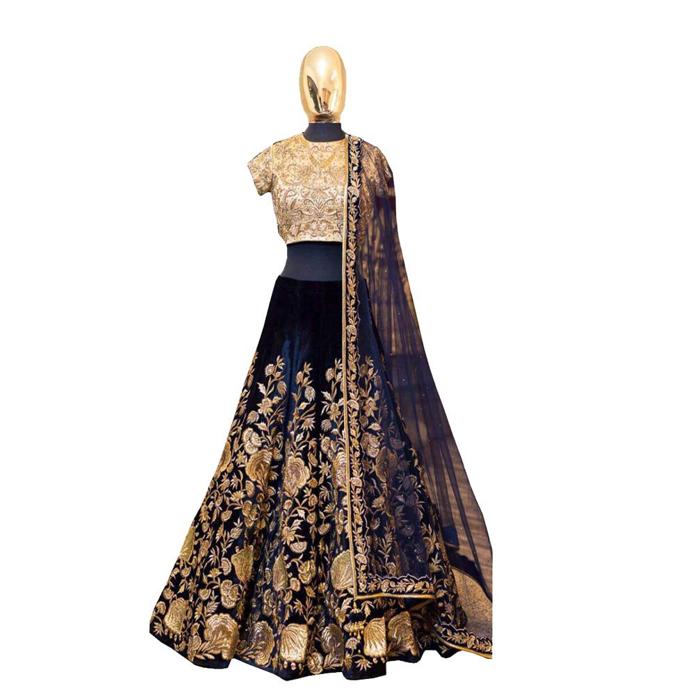 indian bridal heavy velvet lehenga choli dream exporter 1134