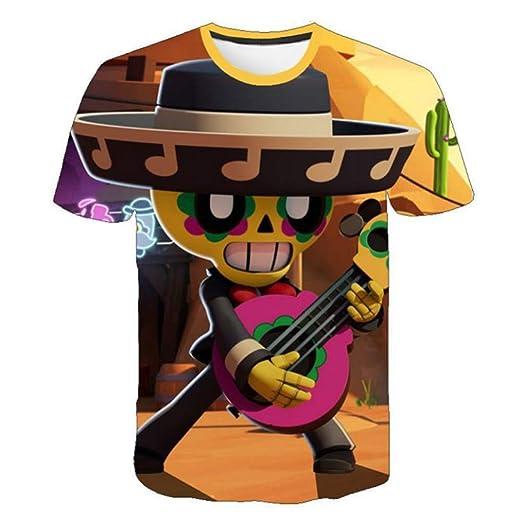 D1 150 God Driver Magliette Per Bambini E Ragazze For Brawl Stars T-Shirt 3D Game Print Kids Series Sport