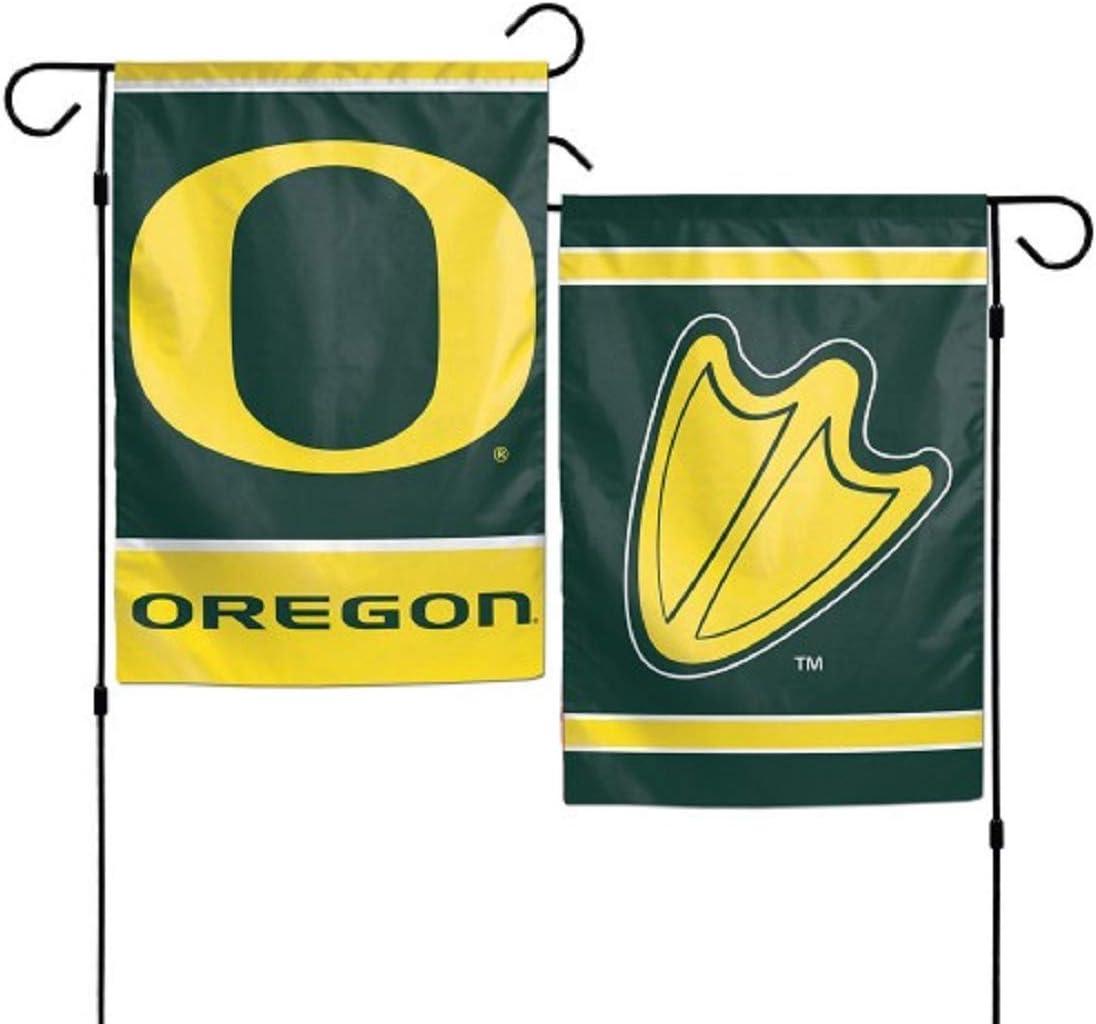 """WinCraft NCAA Oregon Ducks Garden Flag, 11""""x15"""", Team Color"""