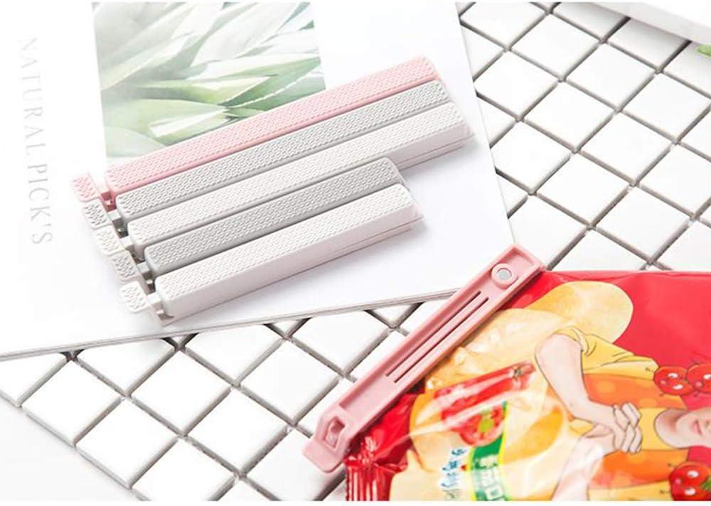 Xinlie Chiudi Sacchetti Clip per Chiudere Sacchetti Sacchetto di Plastica di Tenuta Clip per Snack Alimenti 11,5//15 cm Utensili da Cucina 6 Pezzi Due Taglie 3 Colori