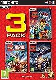 Lego Pack 3 - Vol 2 : Hobbit+ Marvel + Movie