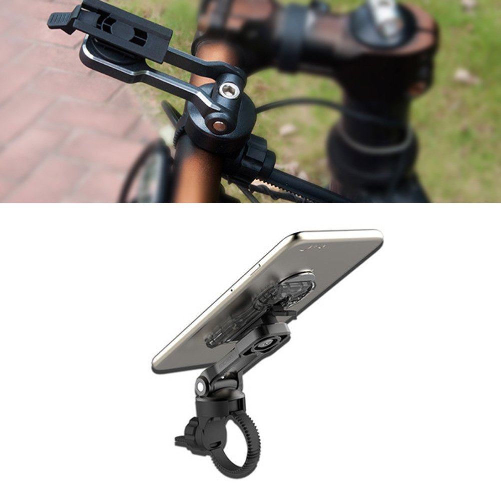 NNDA CO New Universal Aluminum Alloy Bicycle Bike Mount Holder For Mobile Cell Phone GPS