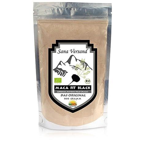 Maca fit negra 500g puro de la raíz de maca organica, original del Peru es