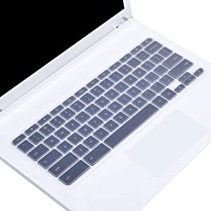"Silicone Keyboard Cover for 2019/2018/2017 Newest Acer Premium R11 11.6 / Chromebook 11 CB3-131 CB3-132 / Chromebook R 11 CB5-132T / 13.3"" Chromebook R 13 CB5-312T /Chromebook 15 CB3-531, Clear"