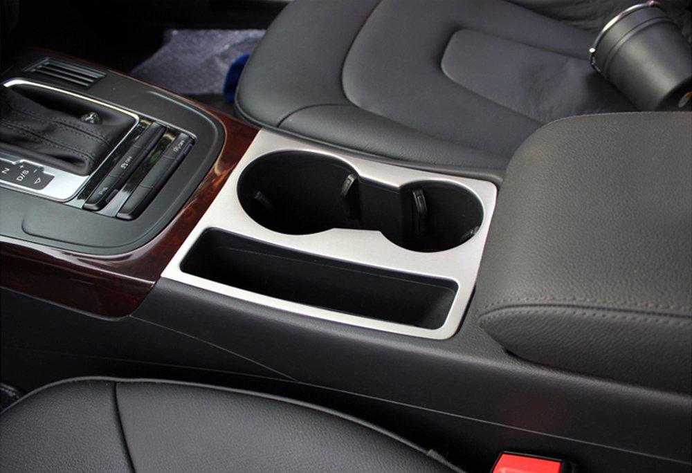 A5 2009-2015 Chrom Getr/änkehalter Becherhalter Cupholder Blende Rahmen f/ür Audi A4 B8