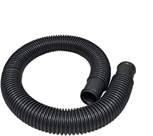"""Puri Tech Durable ABG Pool Filter Connection Hose 1.5"""" Inch Valve x 3' Feet Corrosion Resistant Connects Skimmer to Pump on Concrete Pools or Filter to Return on Above Ground Pools"""