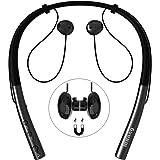 Auriculares Bluetooth Deportivos Impermeables IPX5 Auriculares Bluetooth In-Ear Cascos Inalámbricos con Micrófono, Cancelación de Ruido CVC 6.0 para iPhone, Samsung, Huawei