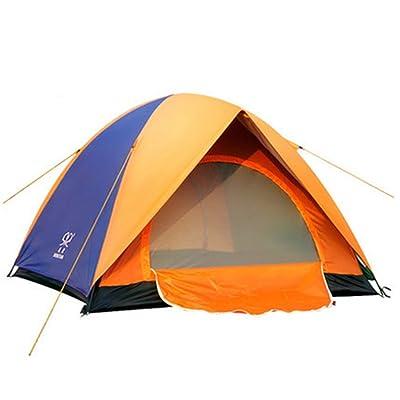 Tentes imperméables Beaucoup de gens Double couche 3-4 personnes Camping tente de camping en plein air